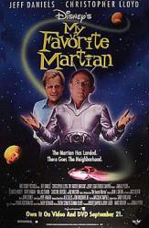 My Favorite Martian movie poster [Jeff Daniels, Christopher Lloyd]