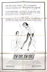 New York, New York movie poster (Uncut version) Martin Scorsese