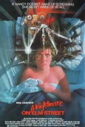 A Nightmare On Elm Street movie poster [a Wes Craven film/1984] 27x40