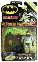 Batman [Mission Masters 4] Night Shadow Batman figure (Hasbro/2001) NM