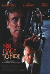 No Place to Hide movie poster [Kris Kristofferson & Drew Barrymore]