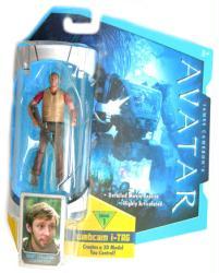 Avatar [Level 1] Norm Spellman action figure (Mattel/2009)