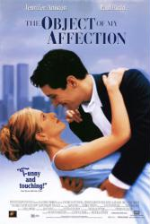 The Object of My Affection movie poster [Jennifer Aniston & Paul Rudd]