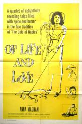 Of Life and Love movie poster [Anna Magnani] original 1958 one-sheet