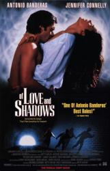 Of Love and Shadows movie poster [Antonio Banderas, Jennifer Connelly]