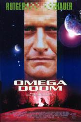Omega Doom movie poster [Rutger Hauer] an Albert Pyun film
