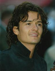 Orlando Bloom glossy: 8'' X 10'' picture (Color)