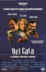 Out Cold movie poster [John Lithgow, Teri Garr, Randy Quaid] 25.5 X 39
