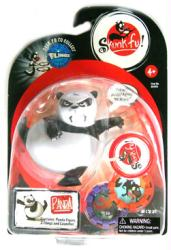 Skunk Fu: Panda action figure (Zizzle/2008) VG