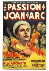 The Passion of Joan of Arc movie poster (1928) [Maria Falconetti]