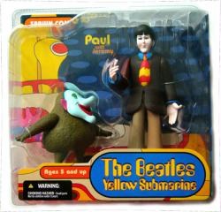 The Beatles Yellow Submarine: Paul & Jeremy figures (McFarlane/2004)