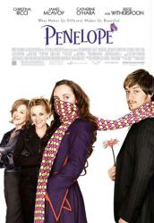 Penelope movie poster [James McAvoy/Christina Ricci/Reese Witherspoon]