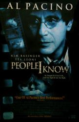 People I Know movie poster [Al Pacino, Kim Basinger, Tea Leoni] 26x40