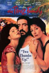 The Perez Family poster [Marisa Tomei, Alfred Molina, Anjelica Huston]