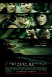 A Perfect Getaway movie poster [Steve Zahn & Milla Jovovich] NM