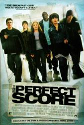 The Perfect Score movie poster [Chris Evans, Scarlett Johansson] 27x40