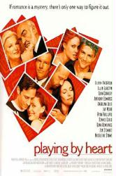 Playing By Heart movie poster [Sean Connery & Angelina Jolie]