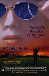 Powder movie poster [Sean Patrick Flanery] 26x40 video version