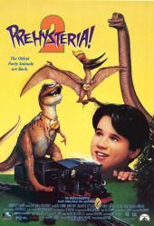 Prehysteria 2 movie poster [1994 video poster]