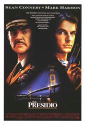 The Presidio movie poster [Sean Connery, Mark Harmon] original 27x41