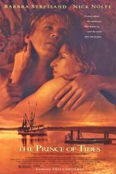 The Prince of Tides movie poster [Barbra Streisand & Nick Nolte]