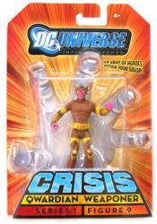 DC Universe [Crisis] Qwardian Weaponer action figure (Mattel/2008) New
