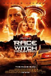 Race to Witch Mountain movie poster [Dwayne Johnson/AnnaSophia Robb]