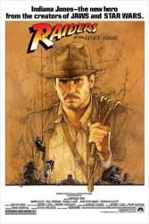 Raiders of the Lost Ark movie poster (1981) [Indiana Jones] 24x36