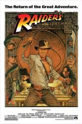Raiders of the Lost Ark movie poster [Indiana Jones] 24'' X 36''
