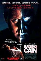 Raising Cain movie poster [John Lithgow] video poster