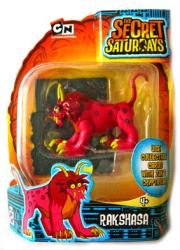 The Secret Saturdays: Rakshasa cryptid figure (Mattel/2009) New