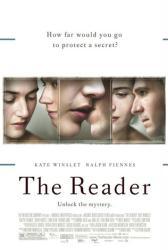 The Reader movie poster [Kate Winslet, Ralph Fiennes & David Kross]
