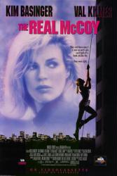 The Real McCoy movie poster [Kim Basinger] video poster