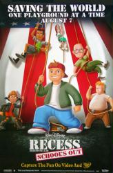 Recess: School's Out movie poster [Disney] 26x40 video poster