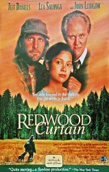 Redwood Curtain movie poster [Jeff Daniels/Lea Salonga/John Lithgow]NM