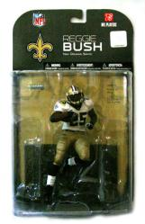 McFarlane NFL Players: Reggie Bush figure [New Orleans Saints] (2008)