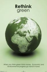 Rethink Green poster (24'' X 36'' Conservation Poster)