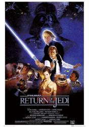 Return of the Jedi movie poster [Mark Hamill, Harrison Ford] 24x36