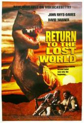 Return to the Lost World movie poster [John Rhys-Davies/David Warner]