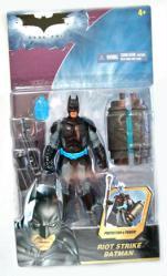 The Dark Knight: Riot Strike Batman action figure (Mattel/2008)