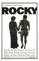 Rocky movie poster [Sylvester Stallone, Talia Shire] 24x36
