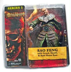 Pirates of Caribbean At World's End Series 1: Sao Feng figure (NECA)