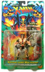 X-Men Flashback Series: Savage Land Wolverine figure (ToyBiz/1996)