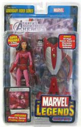 Marvel Legends Legendary Rider: Scarlet Witch figure (ToyBiz/2005) NM