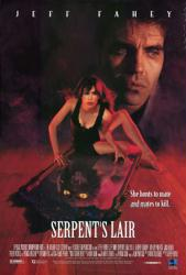Serpent's Lair movie poster [Jeff Fahey & Lisa B] video poster