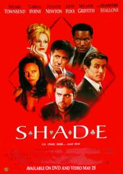 Shade movie poster [Stuart Townsend, Thandie Newton & Jamie Foxx]
