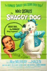 The Shaggy Dog movie poster (Disney) [Fred MacMurray] one-sheet