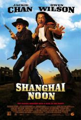 Shanghai Noon movie poster [Jackie Chan & Owen Wilson] Good condition