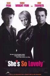 She's So Lovely poster [Sean Penn, Robin Wright Penn, John Travolta]