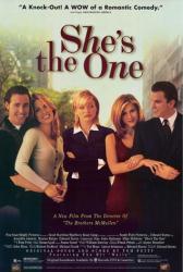 She's the One movie poster /Edward Burns/Cameron Diaz/Jennifer Aniston